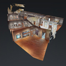 3d image of the exhibition